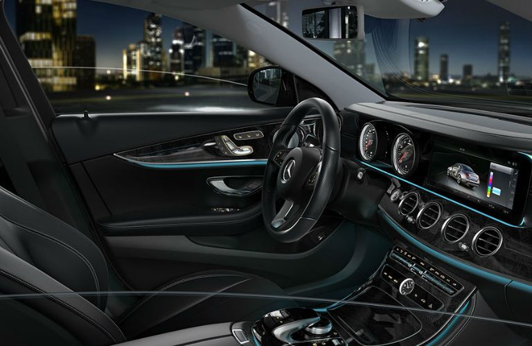2017 Mercedes-Benz E-Class Black Luxury Interior