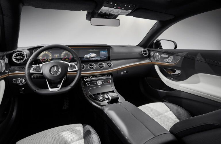 2018 Mercedes-Benz E-Class Coupe interior dashboard