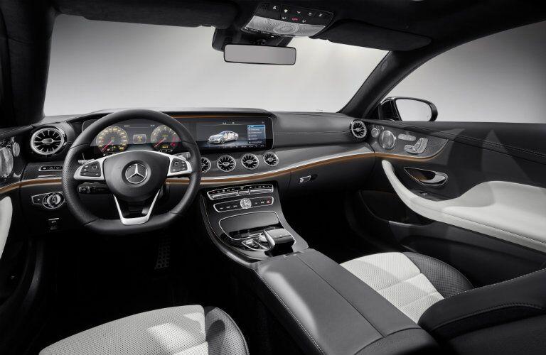 2018 Mercedes-Benz E-Class Coupe interior dashboard