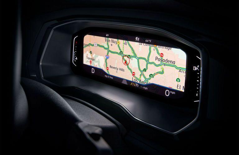 Center navigation touchscreen of 2019 Volkswagen Jetta