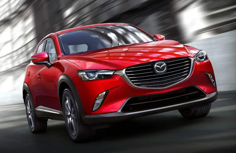 2018 Mazda CX-3 in Red