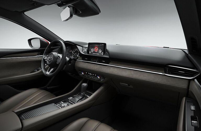 2018 Mazda6 Dashboard, Steering Wheel and MAZDA CONNECT Touchscreen