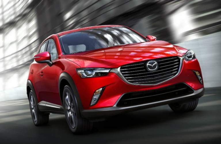 2018 Mazda CX-3 front exterior