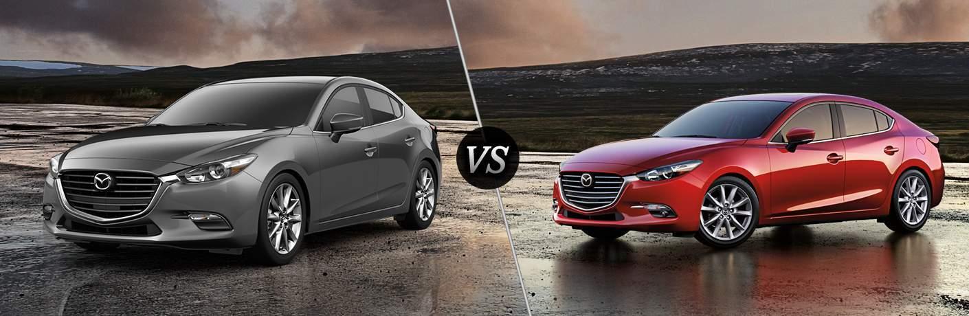 2018 Mazda3 vs 2017 Mazda3