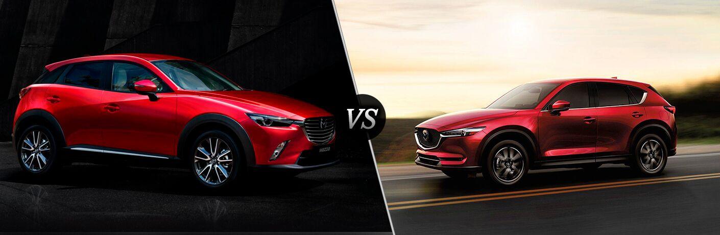 2018 Mazda CX-3 vs 2018 Mazda CX-5 head-to-head