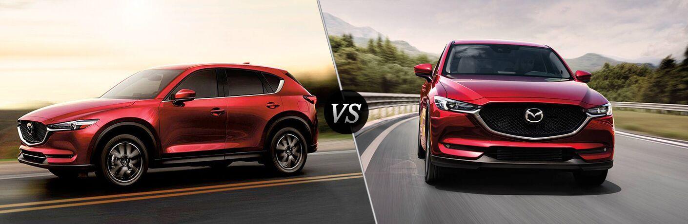 2018 Mazda CX-5 vs 2017 Mazda CX-5