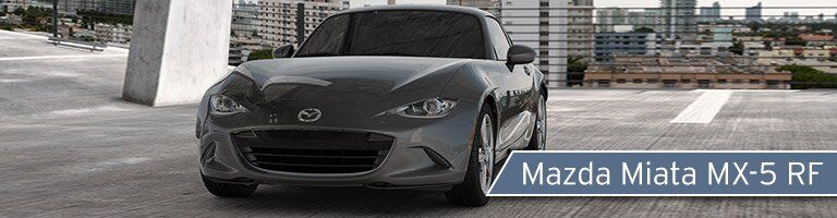 2017 Mazda Miata front exterior
