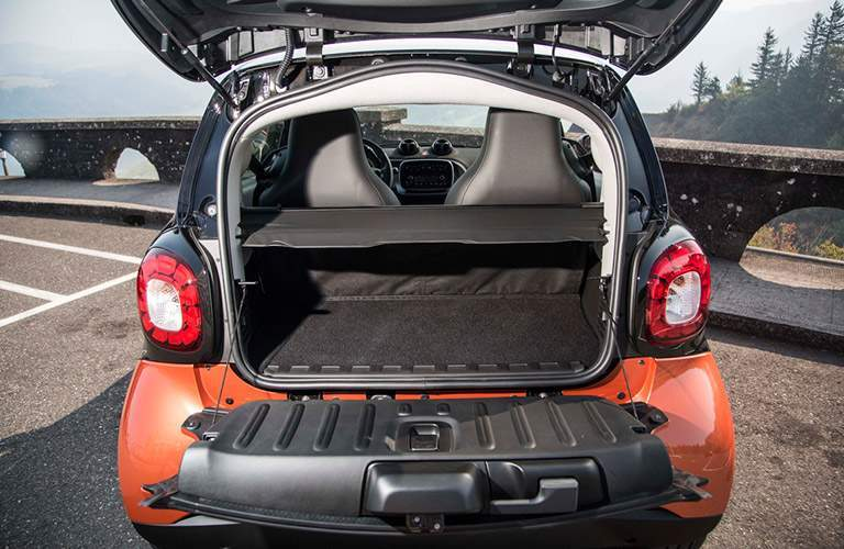 2017 smart fortwo Seattle WA Cargo Capacity