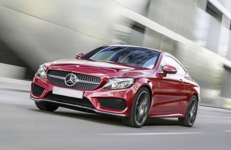 2017 Mercedes-Benz C-Class Coupe vs 2017 Audi A5 Exterior Features