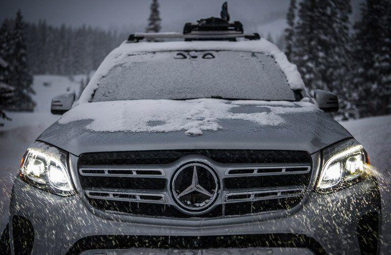 2017 Mercedes-Benz GLS front grille