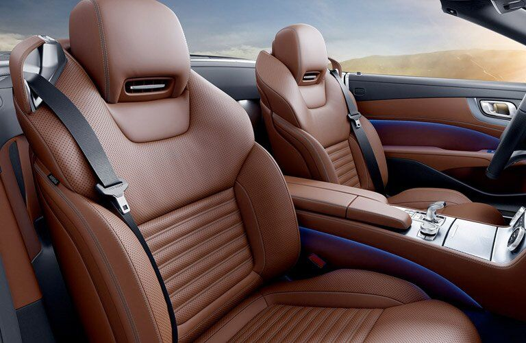 2017 Mercedes-Benz AMG SLC43 Front Seats