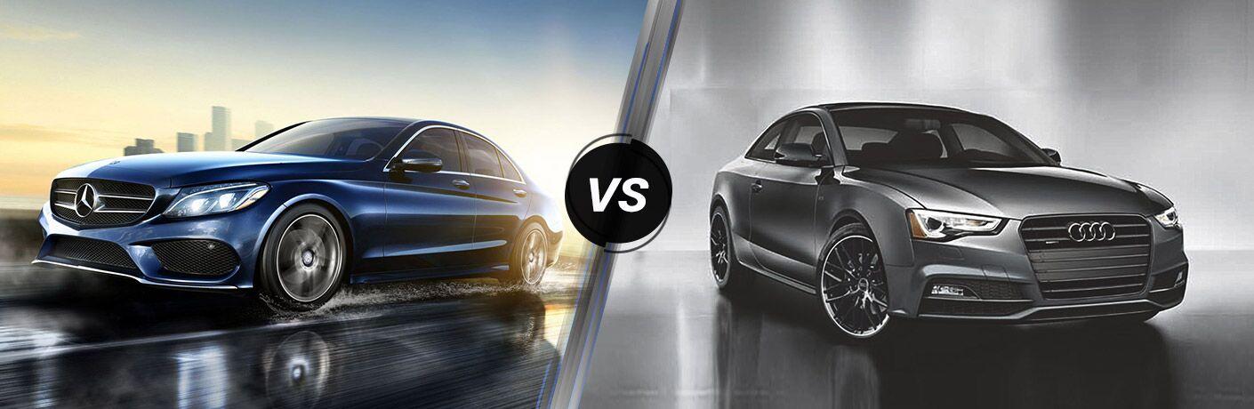2017 Mercedes-Benz C-Class Coupe vs 2017 Audi A5