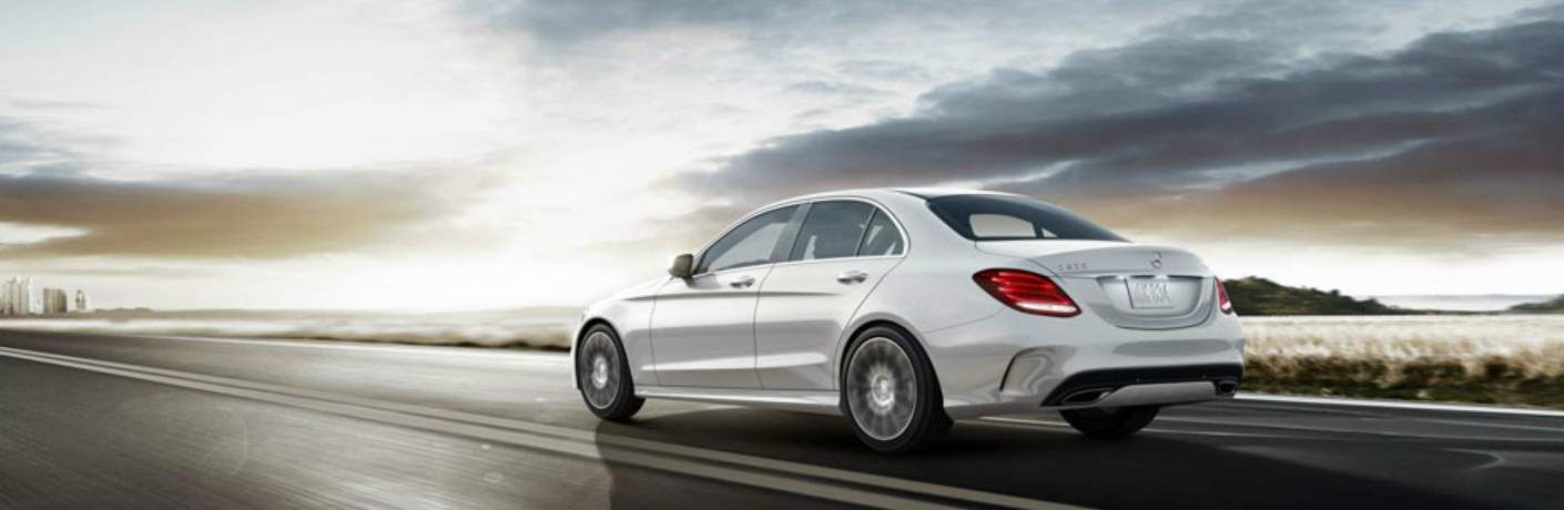 2018 Mercedes-Benz C 300 Driving Towards City