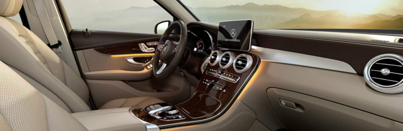 Interior of the Mercedes-Benz GLC
