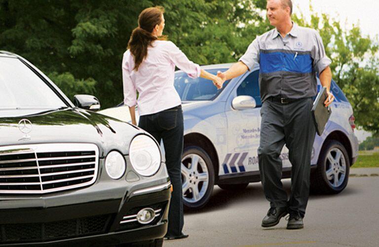 Mercedes-Benz Roadside Assistance Towing