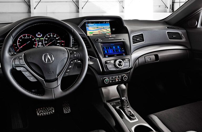Close up of the 2017 Acura ILX's dashboard