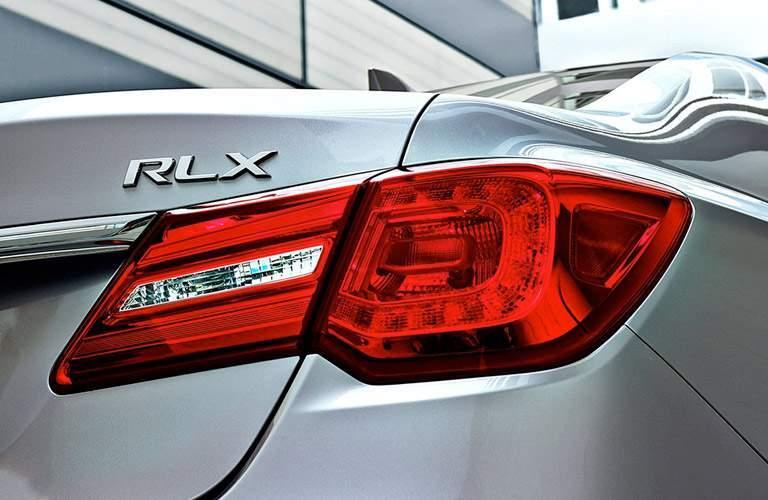 2017 Acura RLX taillight