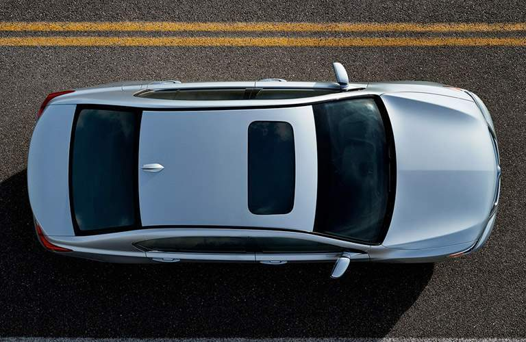 2017 Acura RLX from above