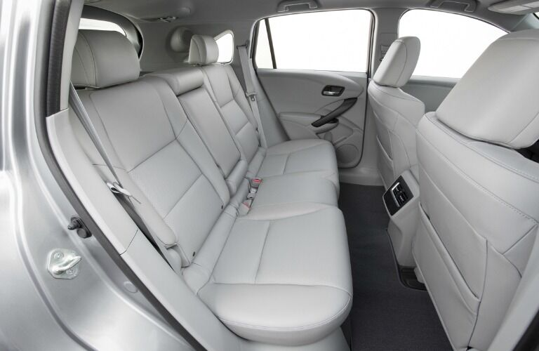 2017 Acura RDX interior second row seating