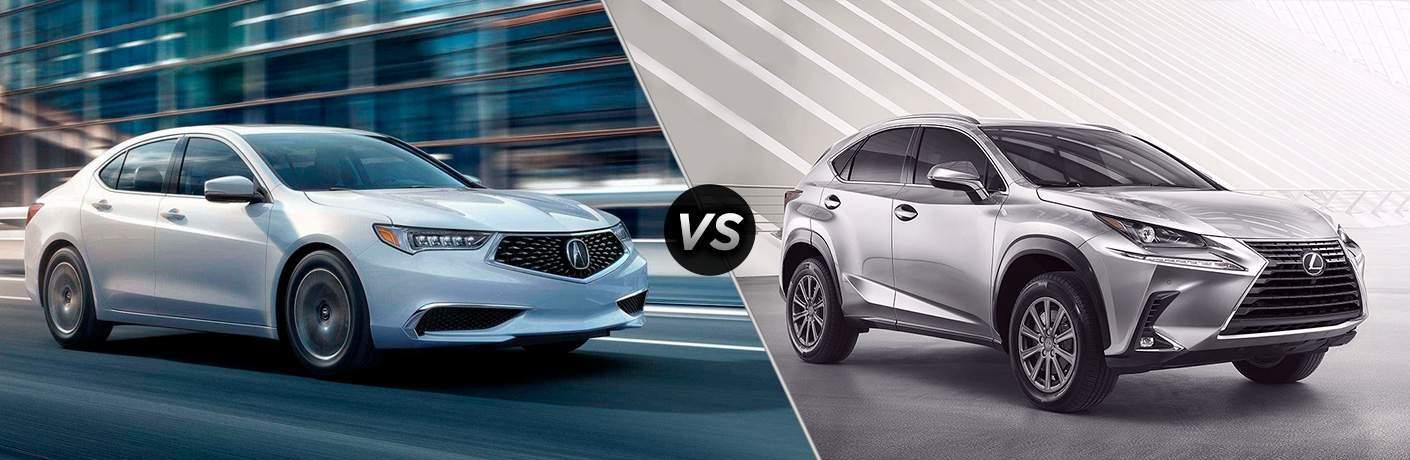 2018 Acura TLX vs 2018 Audi A4