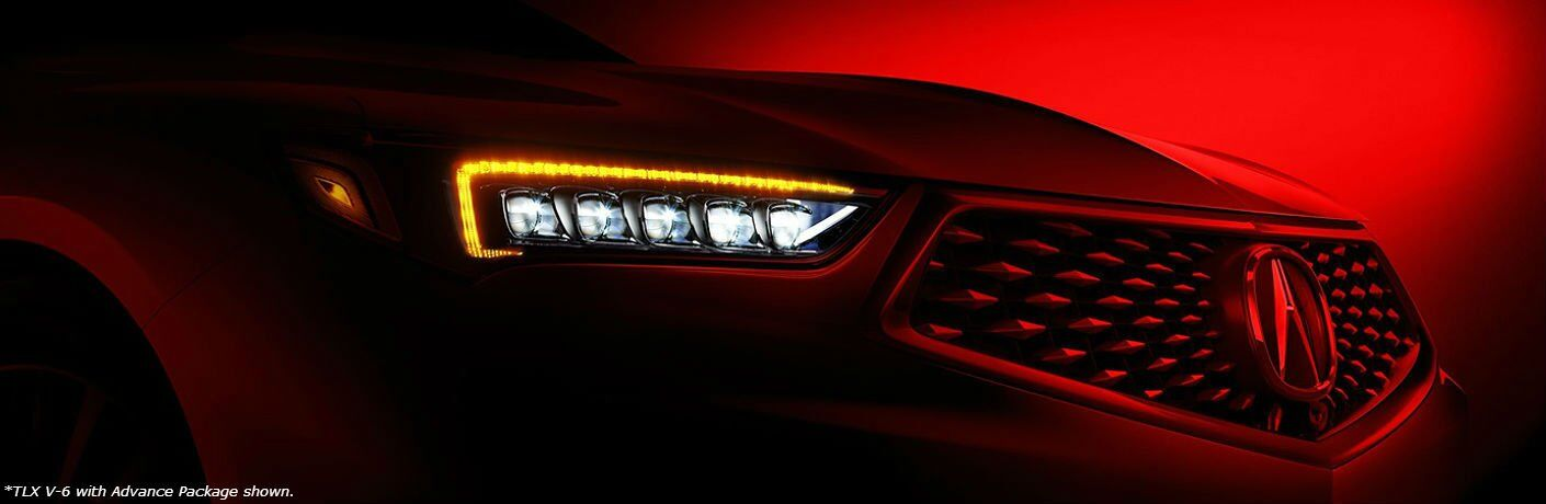 2018 Acura TLX model headlight