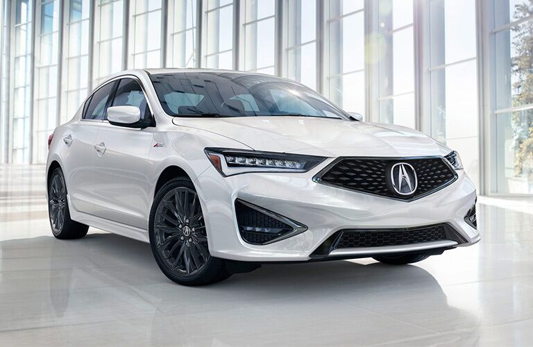 2019 Acura ILX exterior in white