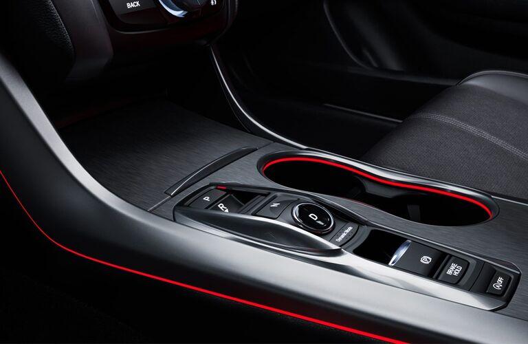 2019 Acura TLX center console