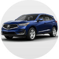 2019 Acura RDX Advance Package in blue