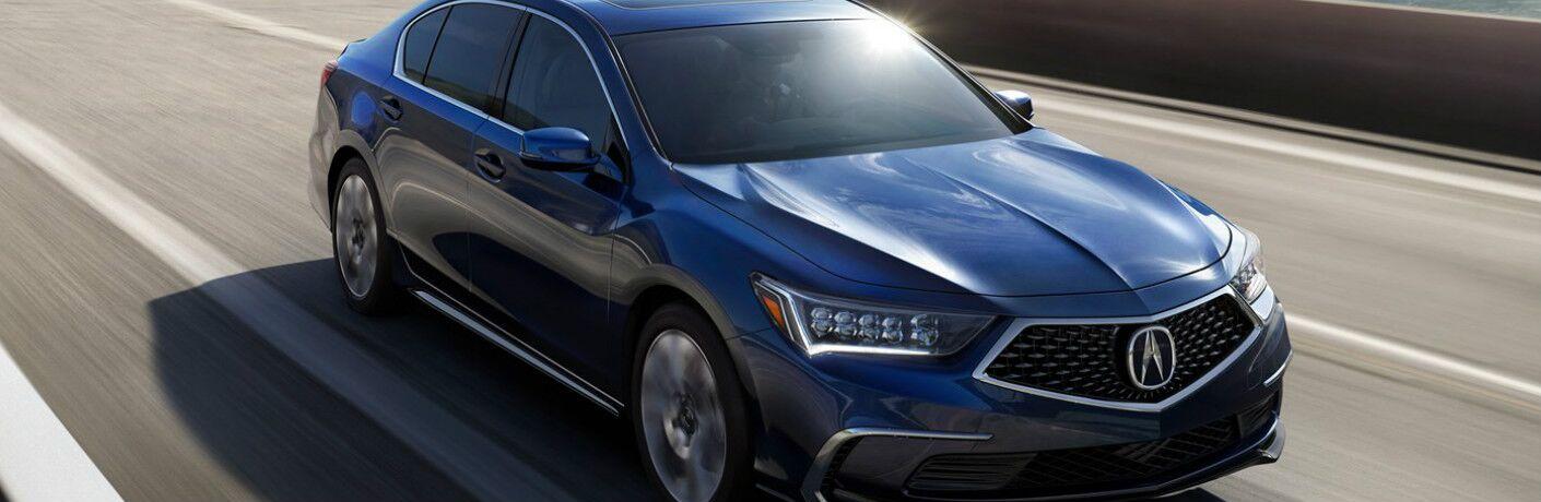 2019 Acura RLX in Fathom Blue Pearl