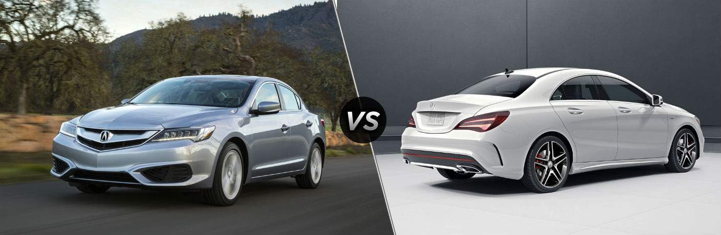 A side-by-side comparison of the 2018 Acura ILX vs. 2018 Mercedes-Benz CLA