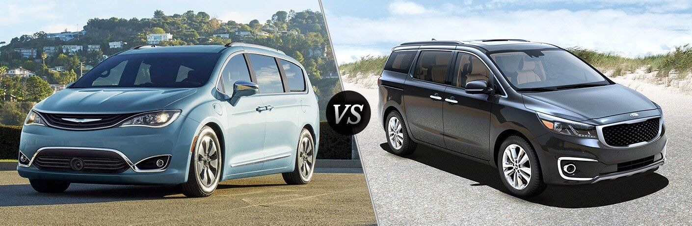 2017 Chrysler Pacifica vs 2017 Kia Sedona
