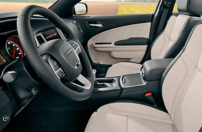 2017 Dodge Charger interior features and technology
