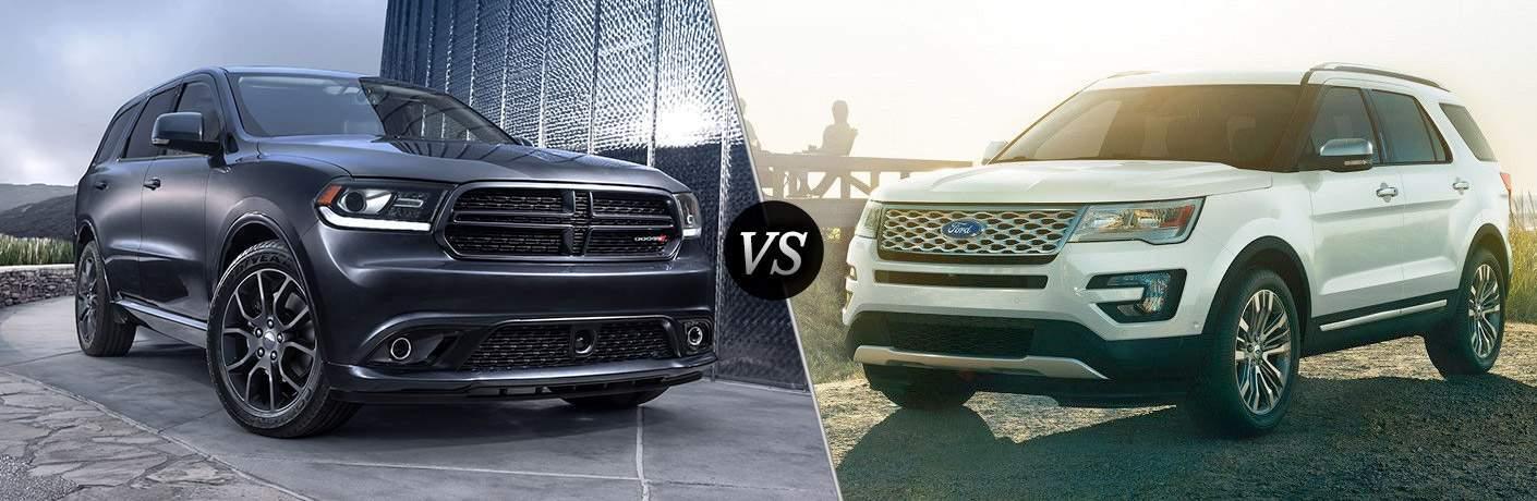 2017 Dodge Durango vs 2017 Ford Explorer