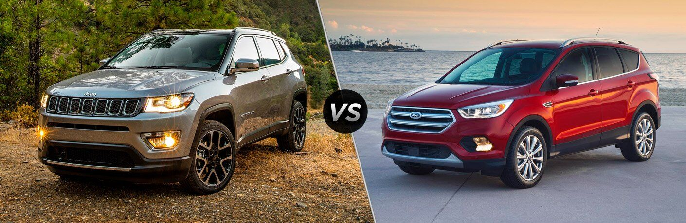 2017 Jeep Compass vs 2017 Ford Escape
