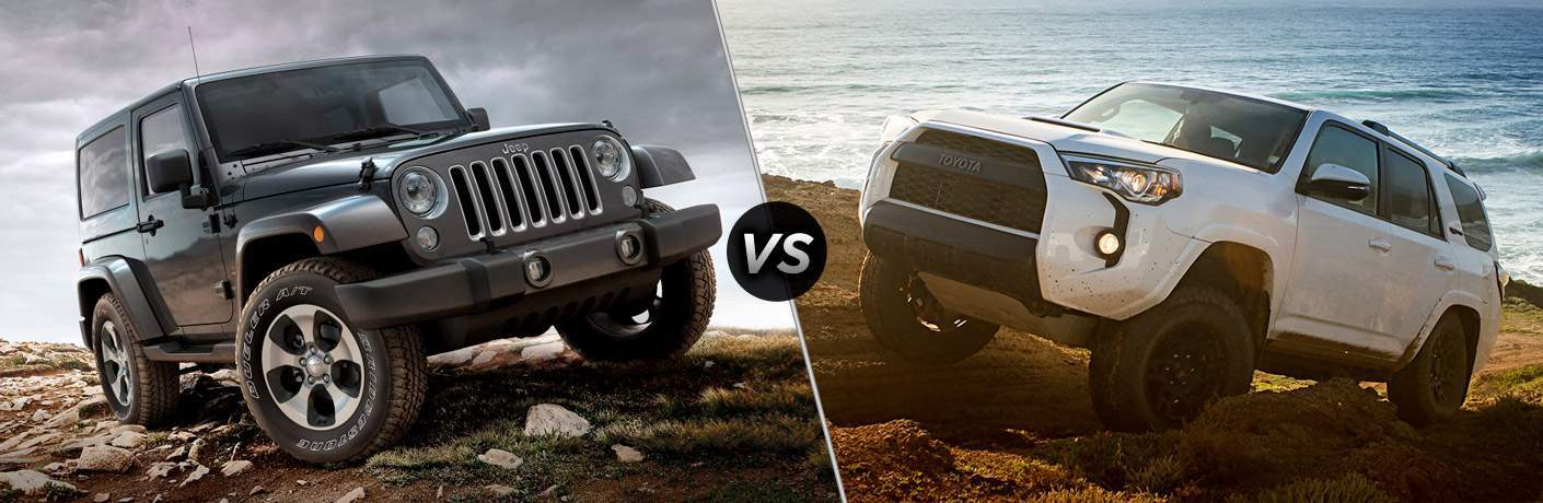 2017 Jeep Wrangler vs 2017 Toyota 4Runner