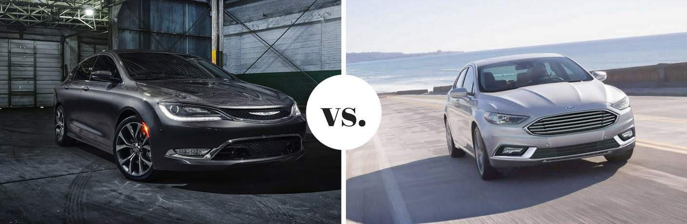 2017 Chrysler 200 vs 2017 Ford Fusion