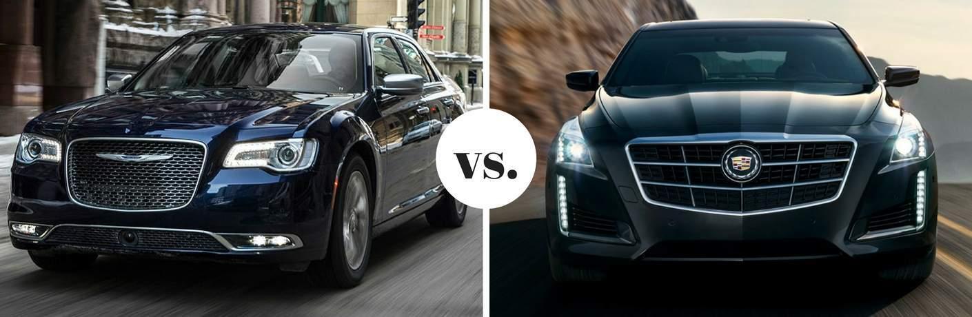 2017 Chrysler 300 vs 2017 Cadillac CTS