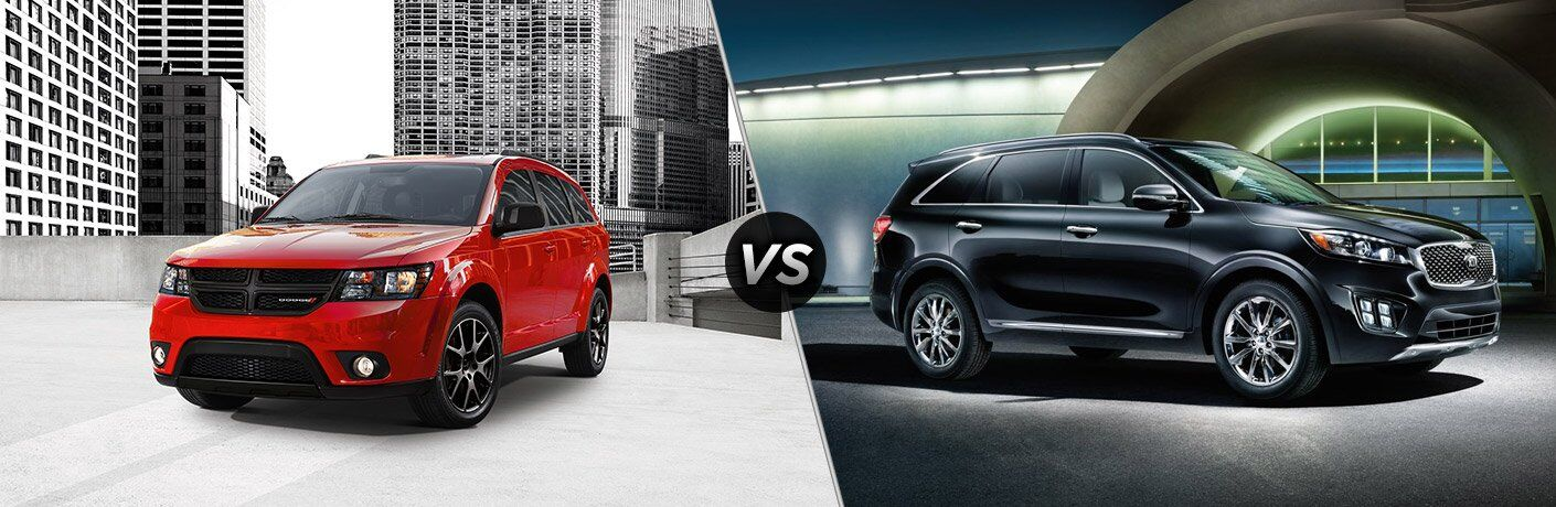 2017 Dodge Journey vs 2017 Kia Sorento