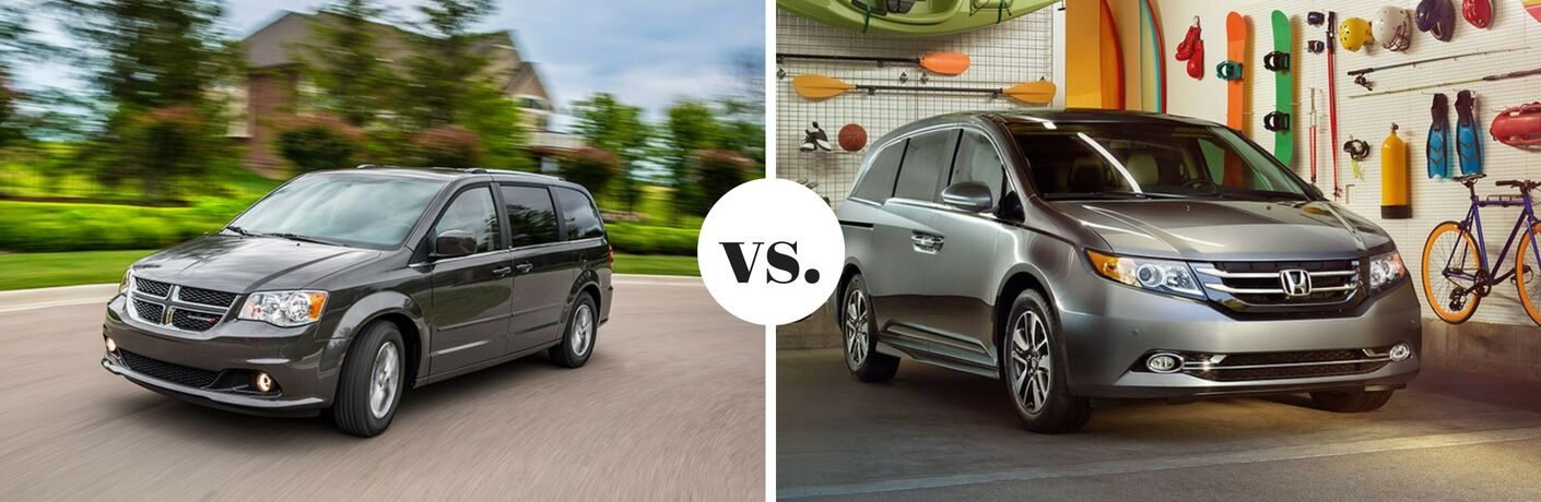 2017 Dodge Grand Caravan vs 2017 Honda Odyssey