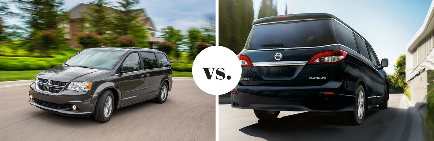 2017 Dodge Grand Caravan vs 2017 Nissan Quest
