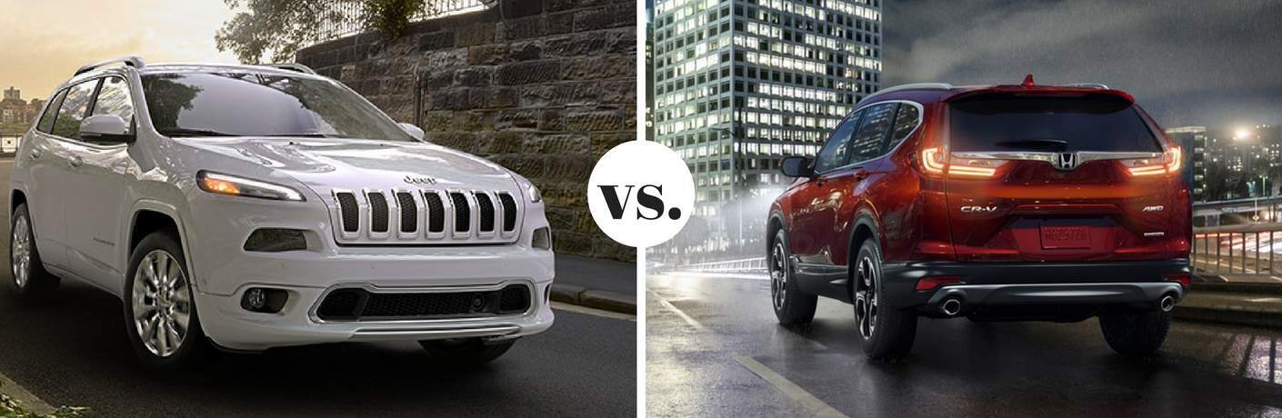 2017 Jeep Cherokee vs 2017 Honda CR-V