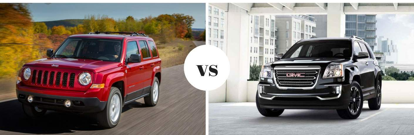 2017 Jeep Patriot vs 2017 GMC Terrain