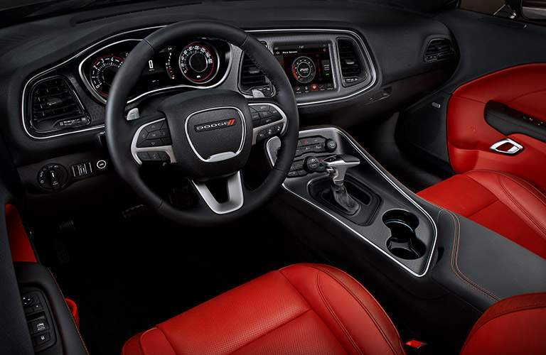 2018 dodge challenger custom race-inspired interior