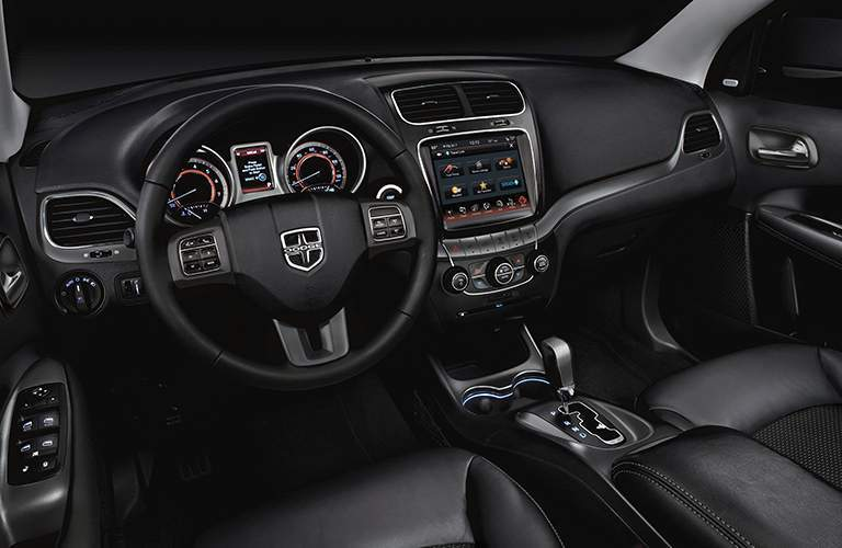 2018 dodge journey interior with infotainment system