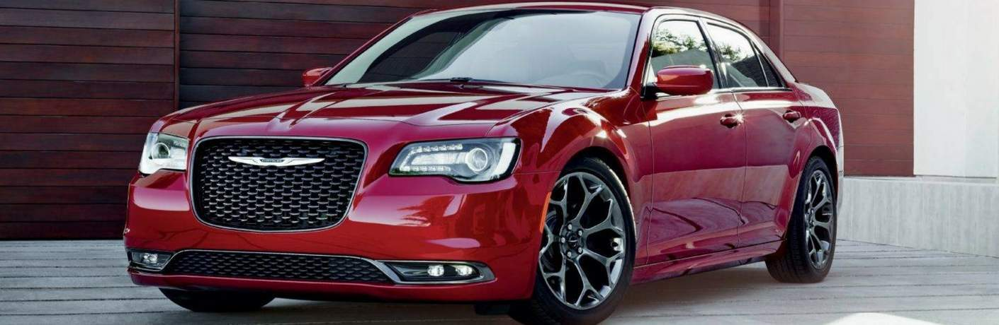 2018 chrysler 300 in redline red tri-coat pearl