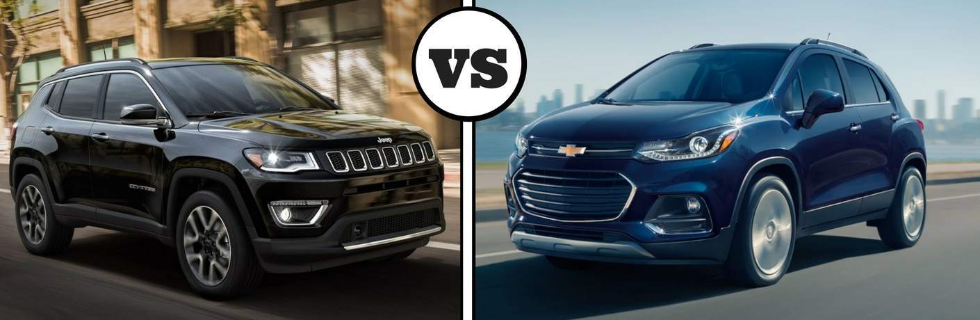 2018 jeep compass vs chevrolet trax