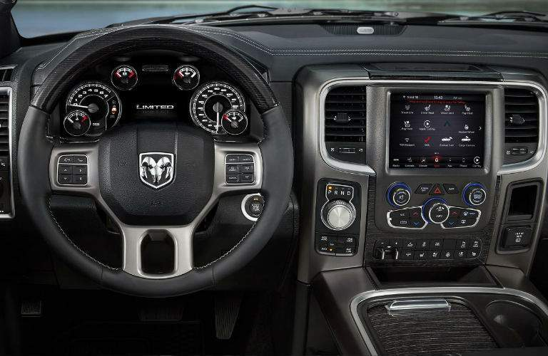 2018 Ram 1500 interior front command center