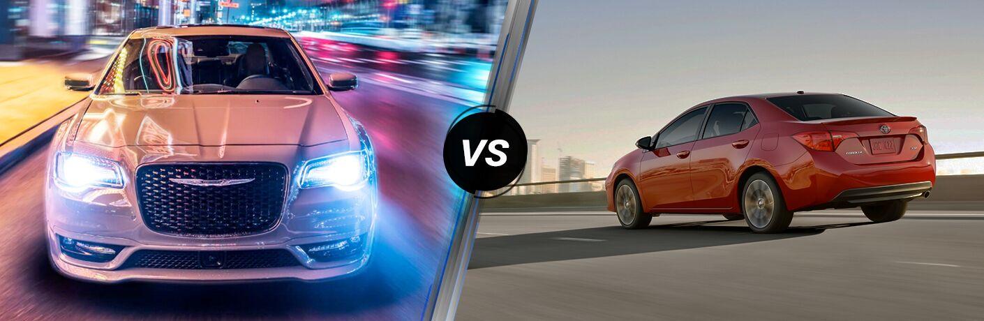 2019 Chrysler 300 vs 2019 Toyota Corolla