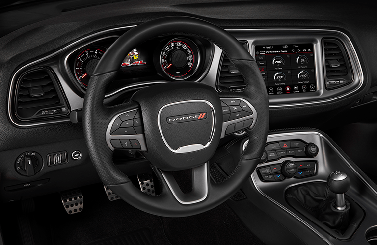 2019 Dodge Challenger dashboard