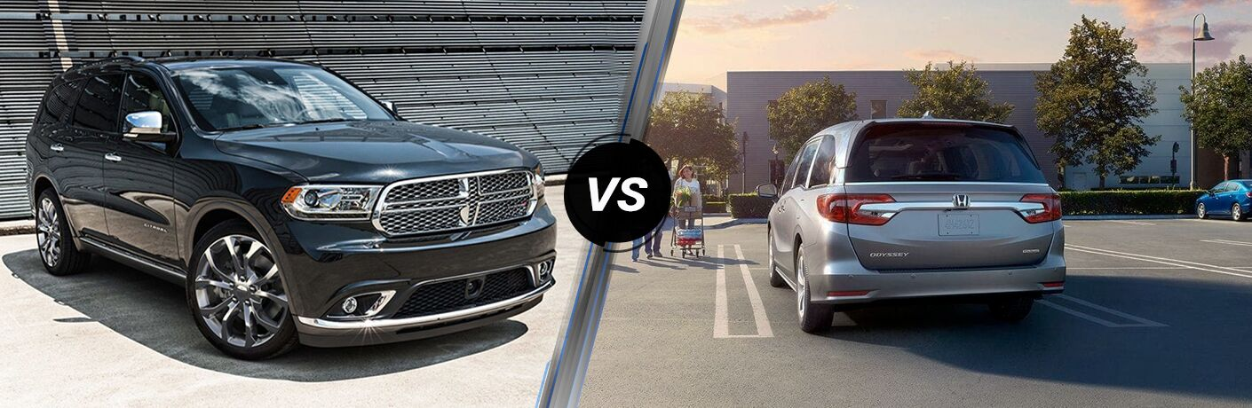 2019 Dodge Durango vs 2019 Honda Odyssey